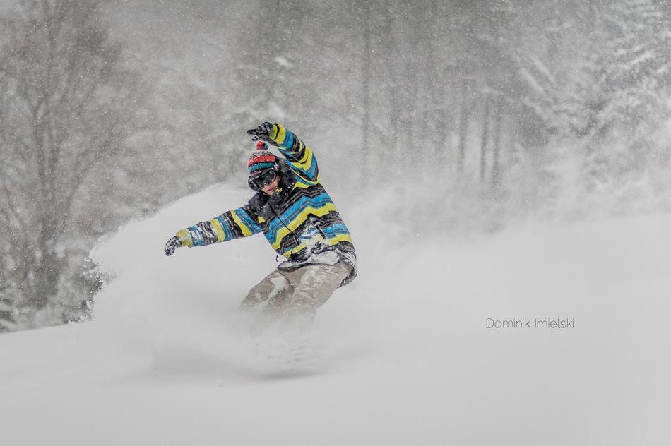 zdjęcie snowboardowe