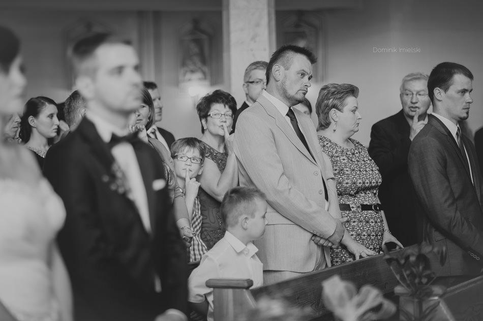 fotografia z ceremonii ślubnej